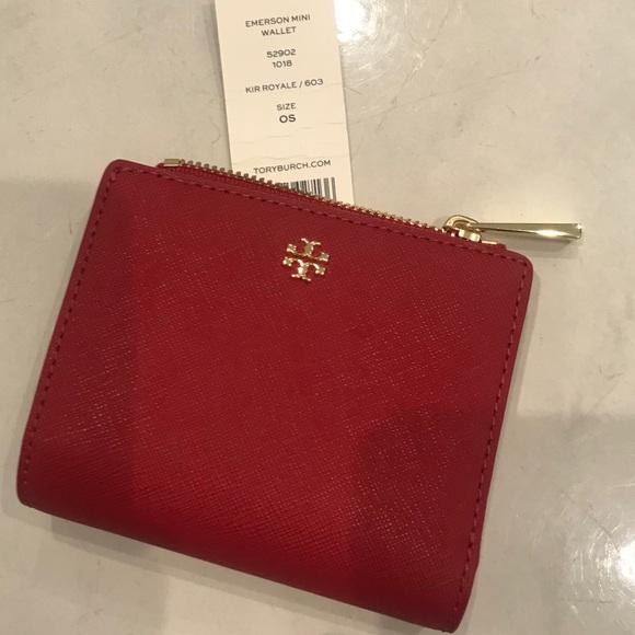 0266d5456ce5 Tory Burch  Emerson  Mini Wallet